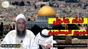 الشيخ محمد الددو يوجه نداء عاجلا لجميع المسلمين حول القدس الشريف