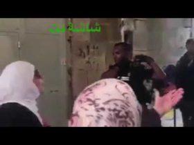 امراة بالف رجل في المسجد الاقصى: هذا اقصانا